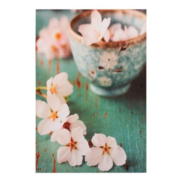 Платно Бял Flower