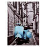 Платно Blue Motorcycle