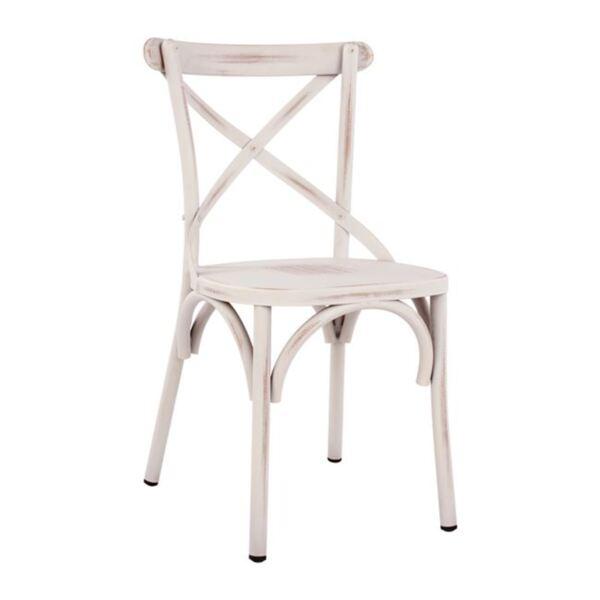 Алуминиев стол Forenza Бял