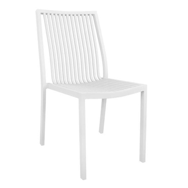 Алуминиев бял стол