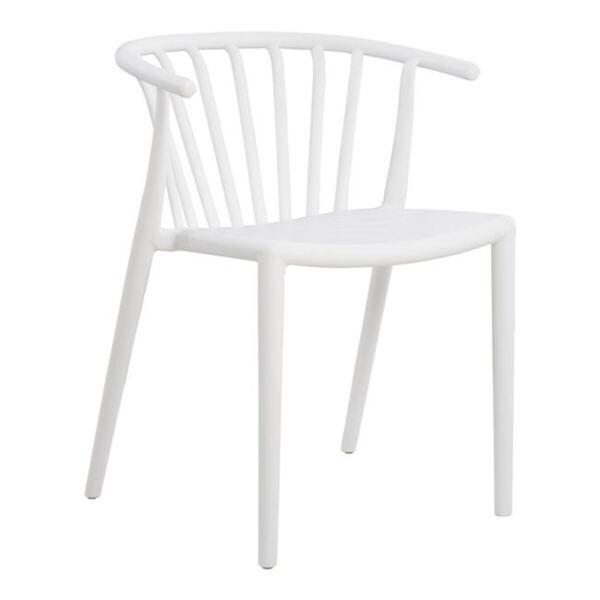Полипропиленов стол с бял цвят