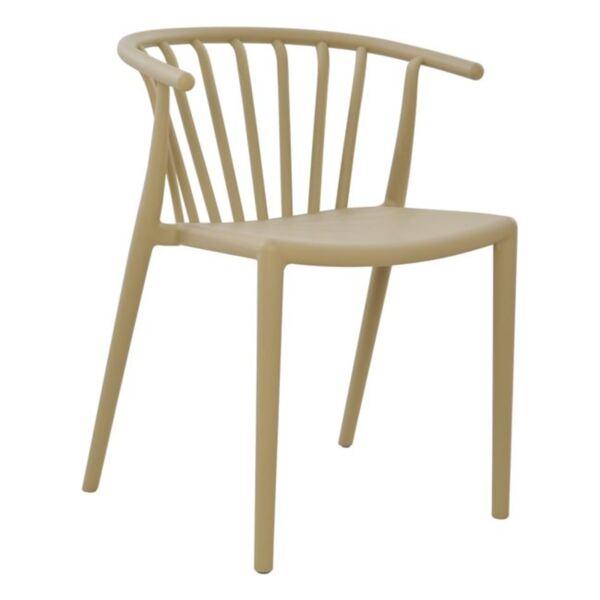 Полипропиленов стол в бежов цвят