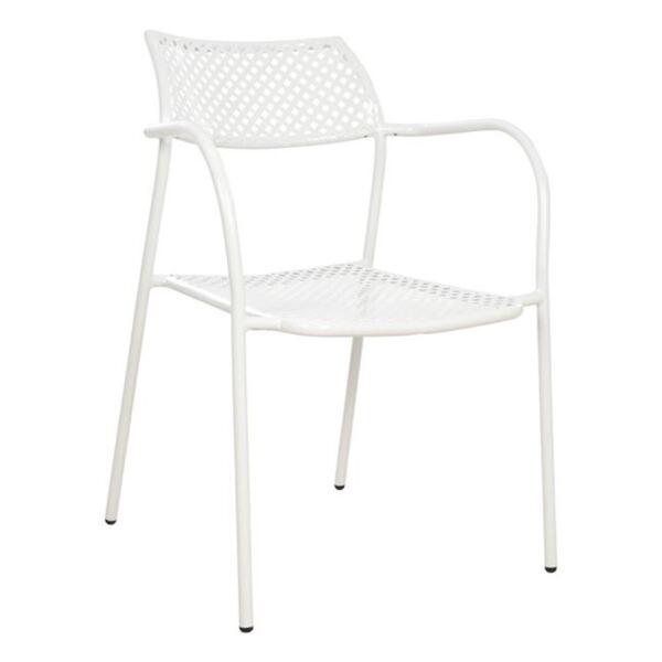 Бял Метален стол Тетида