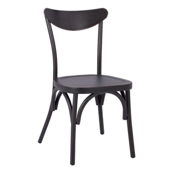 Алуминиев стол Шърли в черен цвят