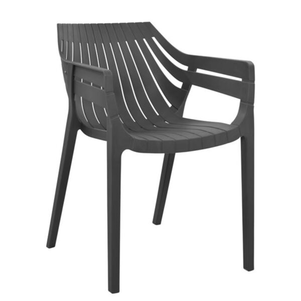 Полипропиленов стол в тъмно сиво