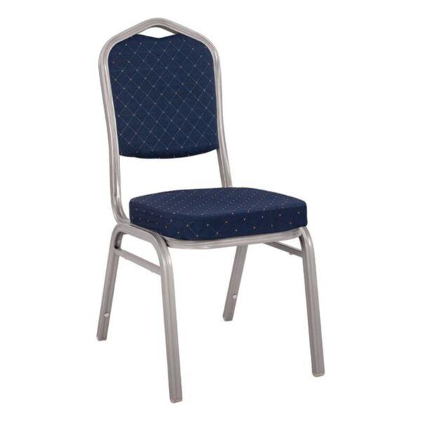 Кетъринг стол Милтън в син цвят
