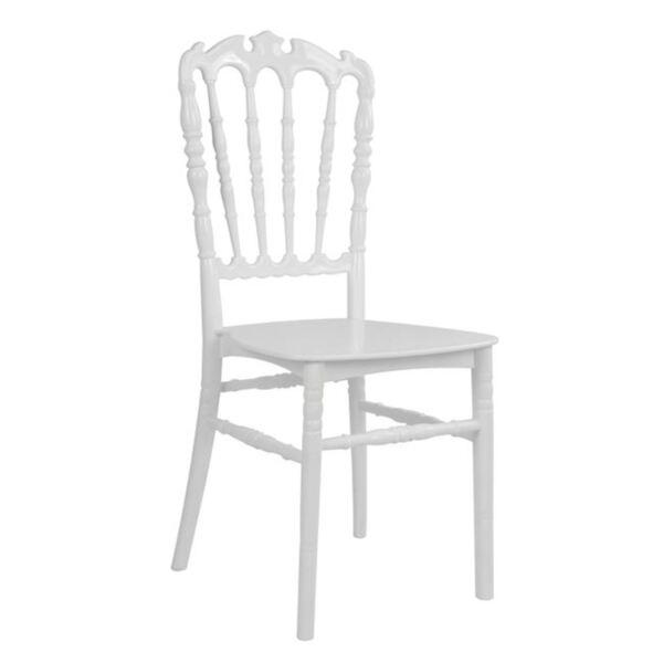 Полипропиленов стол King - Бял