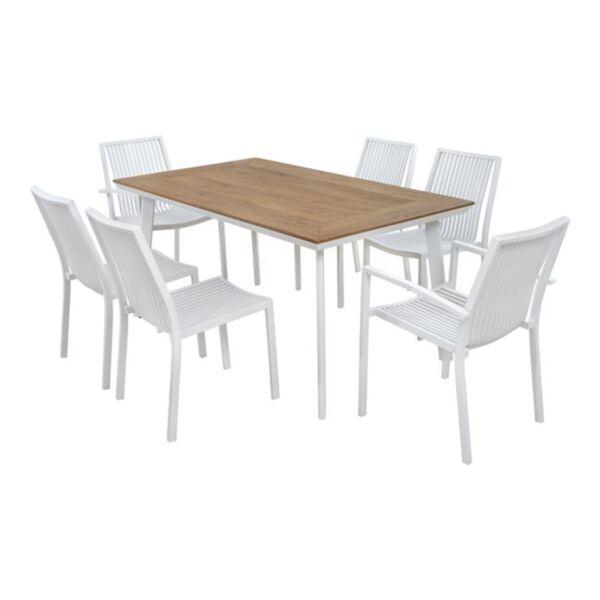 Комплект за хранене - бял цвят
