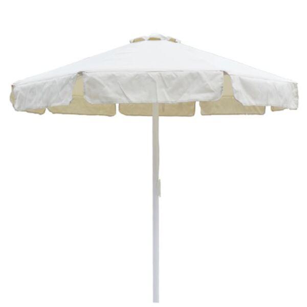 Плажен чадър в цвят крем ф2,20м