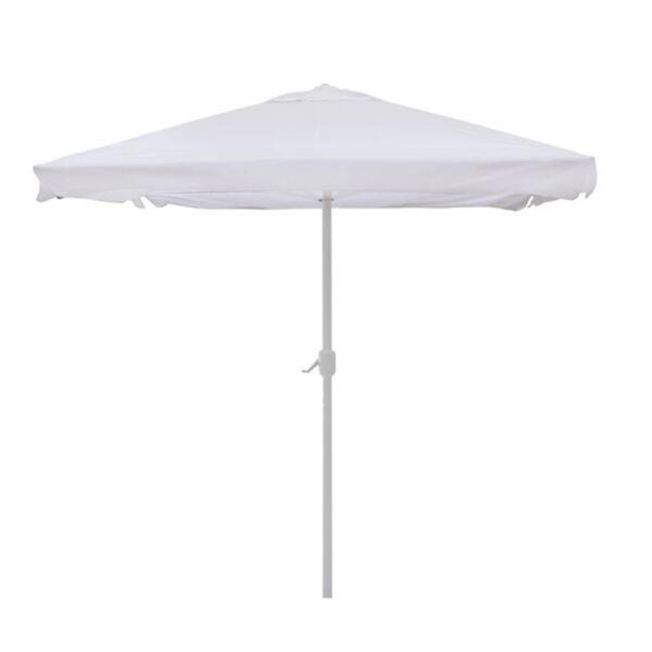 Алуминиев плажен чадър в цвят крем 3/3м