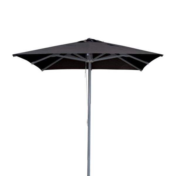 плажен чадър ALU Черен Текстил