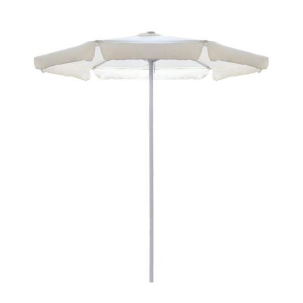 Плажен чадър М в цвят крем/ф2м