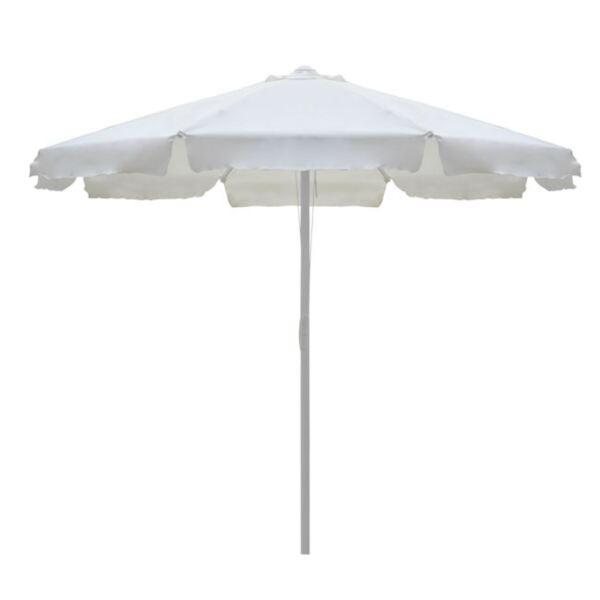 Плажен чадър M цвят крем-3м
