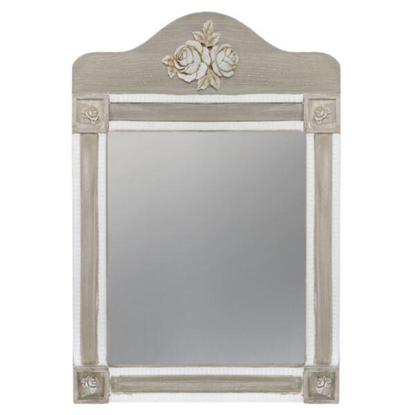 Огледало Melody бяло / сива