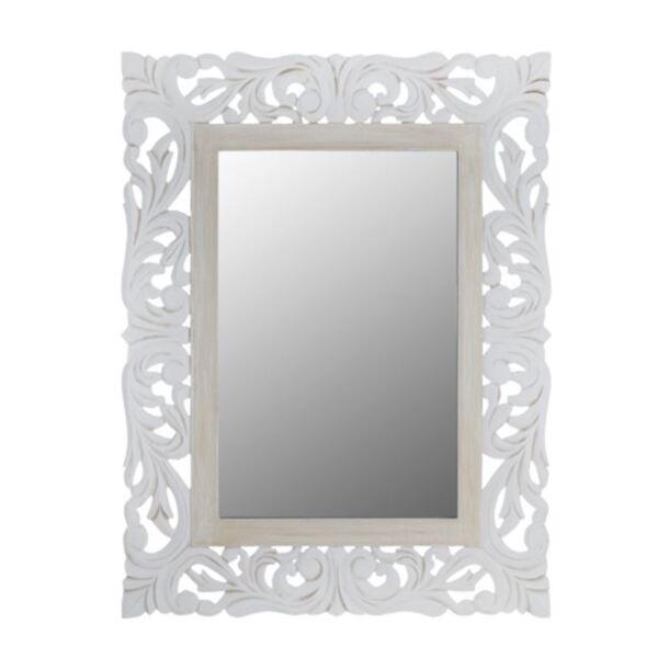 Огледало Приамо бяло / сива