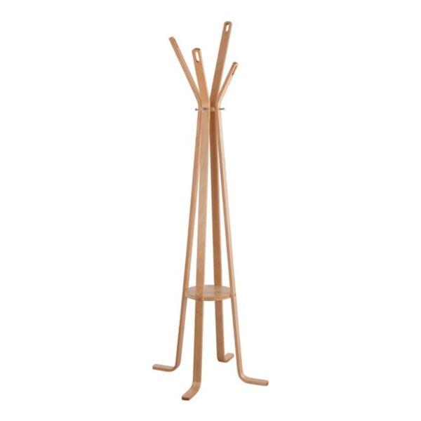 Дървена закачалка с крака Funky