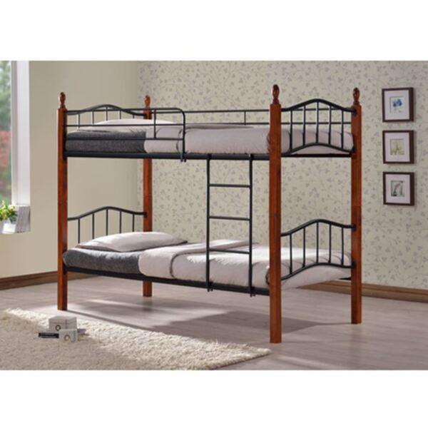Метално двуетажно легло
