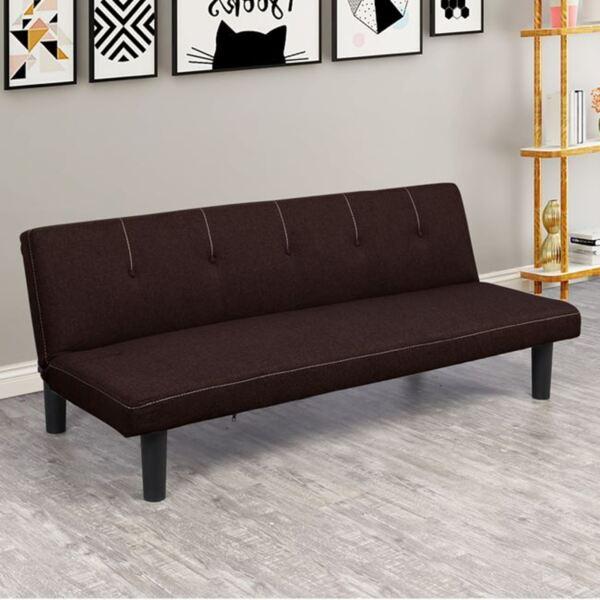 Разтегателен диван Итън шоколадов Цвят