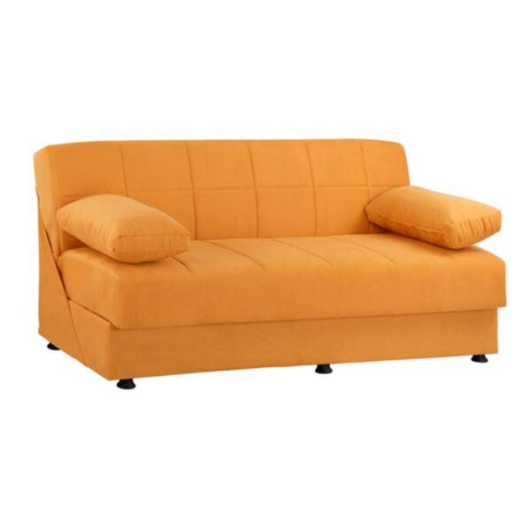 Разтегателен диван EGE в оранжево
