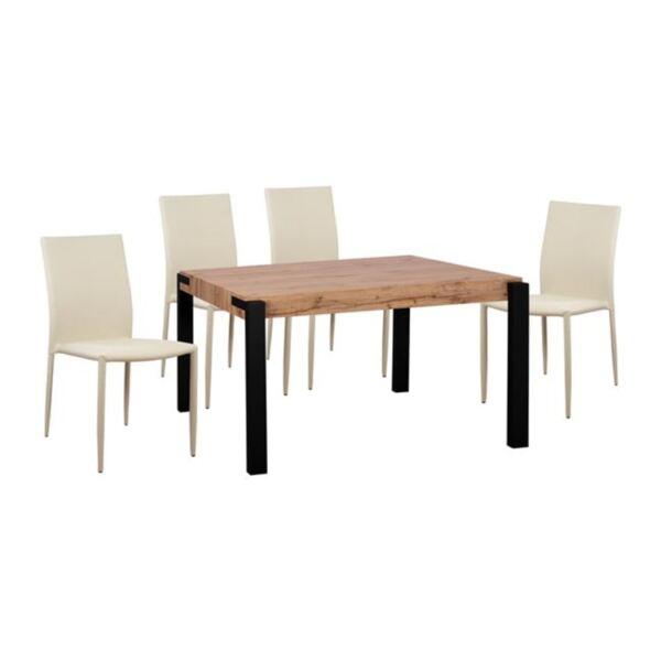 Комплект Маса МДФ със столове Teta