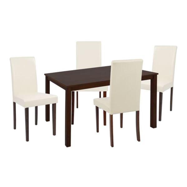 """Комплект за хранене Орех"""" маса и столове Selene"""""""