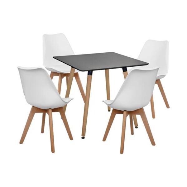 Комплект Маса и Бял стол Вегас