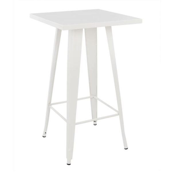 Бар маса с бял цвят