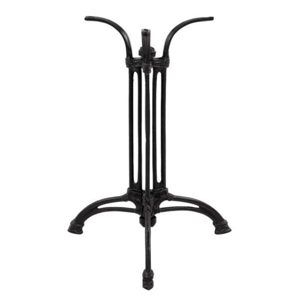 Основа с чугунени крака в черен цвят