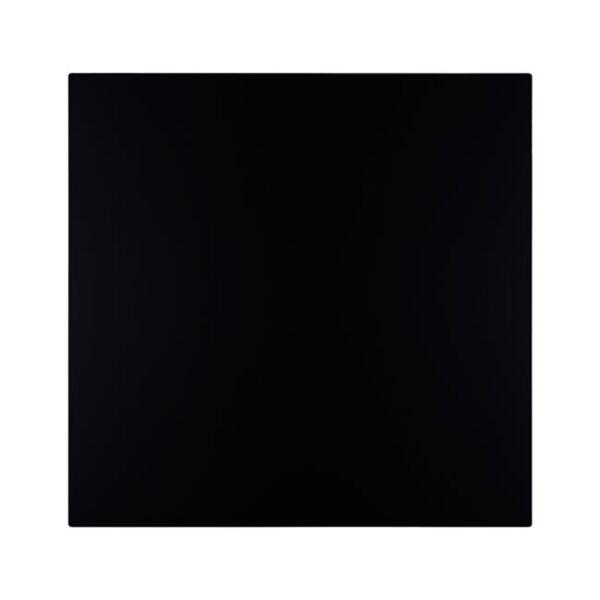 Плот за маса HPL в черен цвят