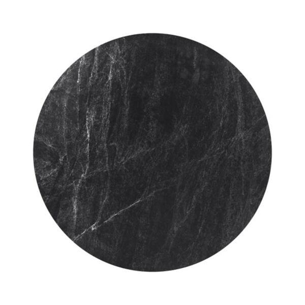 Плот за маса HPL черен мрамор