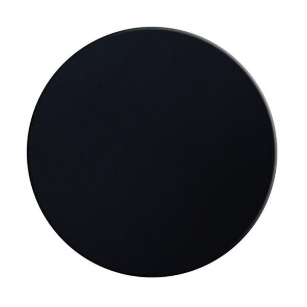 Верзалитов плот за маса ' в черен цвят ф60см