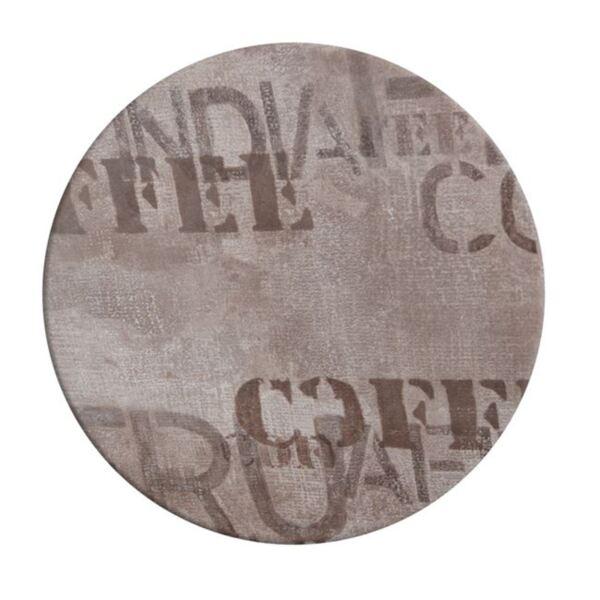 Верзалитов плот за маса в кафе ф60см