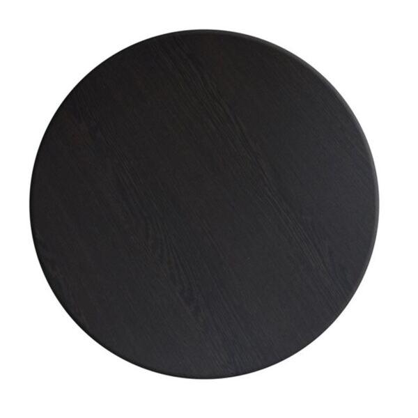 Верзалитов плот за маса в цвят Венге ф70см