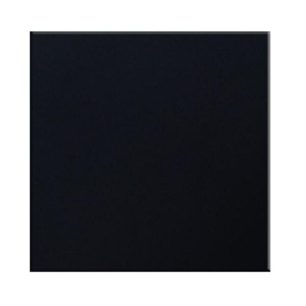 Верзалитов плот за маса в черен цвят