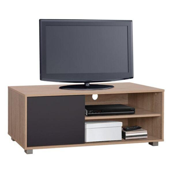 TV шкаф цвят сонама/сиво