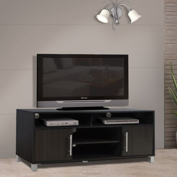 TV шкаф меламин цвят Зебрано