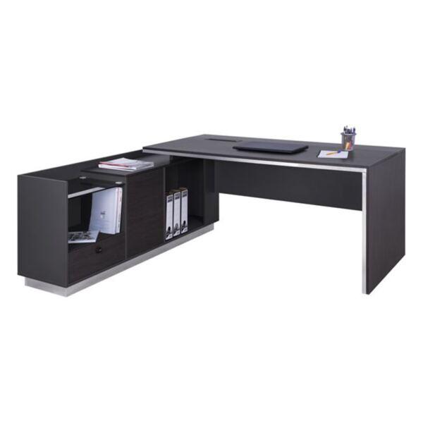 Офис бюро с ъглово шкафче