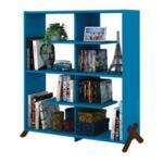 Библиотека Кип в цвят син