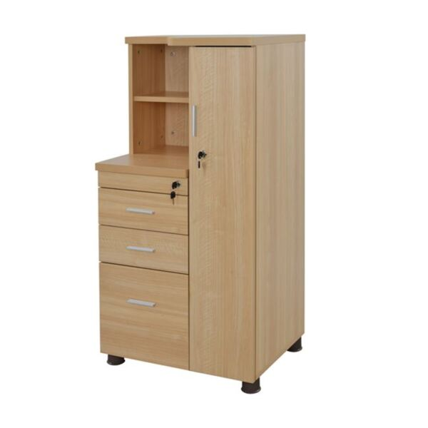 Офис шкаф цвят дъб