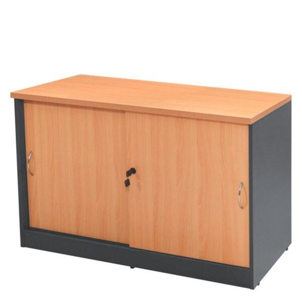 Офис шкаф в цвят дъб