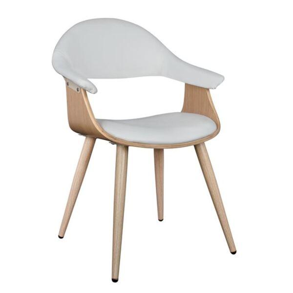 Кресло Superior Pro цвят сонама / бял цвят