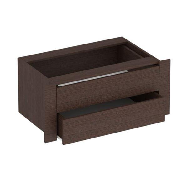 Вътрешно чекмедже за гардероб Амелия цвят Венге