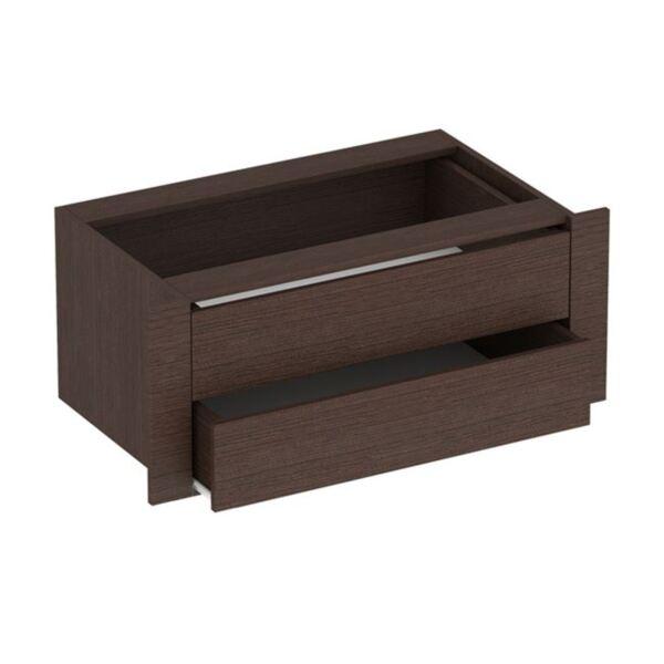 Вътрешно плъзгащо чекмедже за гардероб Амелия цвят Венге