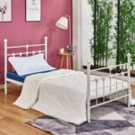 Спалня бял метал цвят