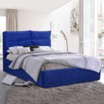 Спалня Loyalty синьо кадифе King Size