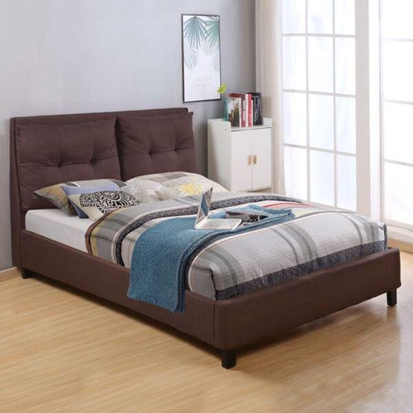 Спалня Били с плат в кафяв цвят