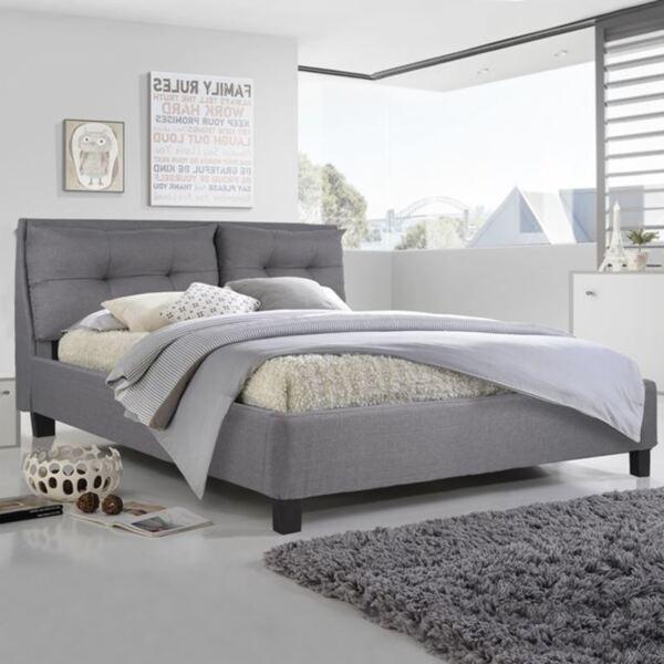 Спалня Били с дамаска в сив цвят