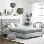 Двойна Спалня Лилит със сив плат