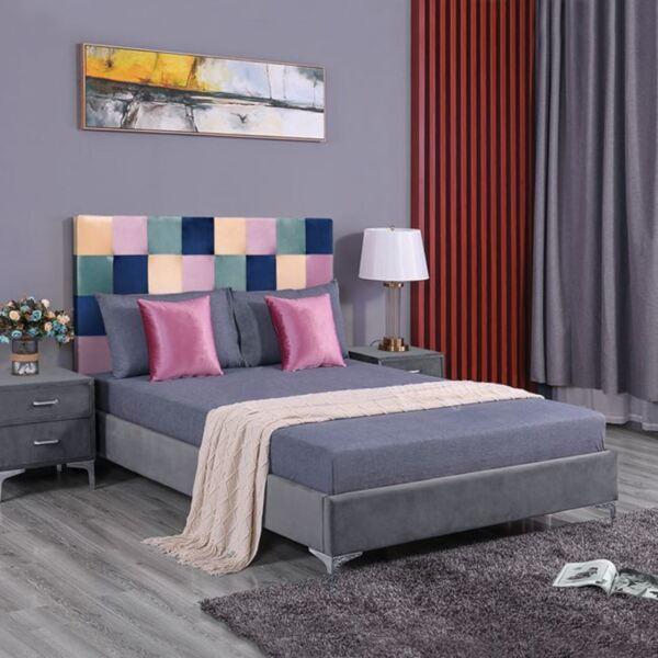 Спалня  ROANNE цветен модел пачуърк150/200см