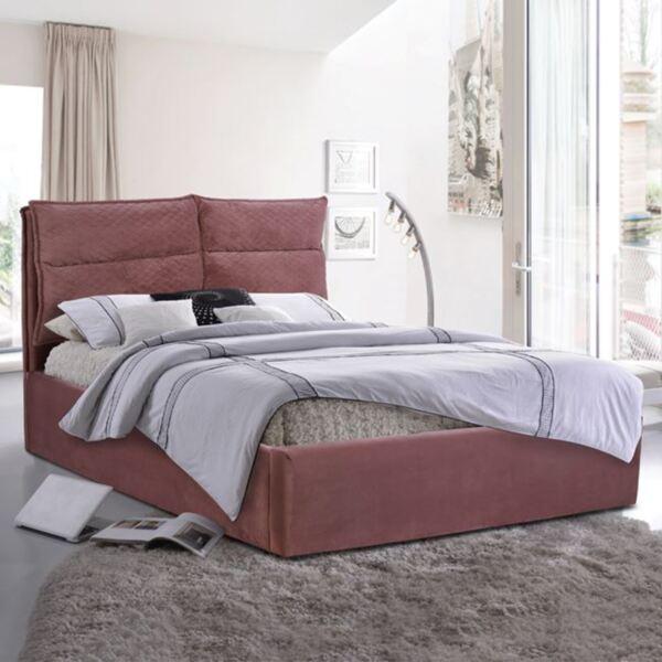 Спалня Royalty King Size с розово кадифе плат